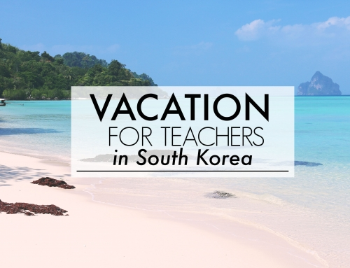 Vacation For Teachers in South Korea