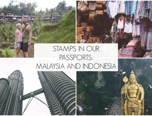 Stamps in Our Passports… Indonesia & Malaysia!