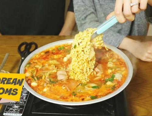 Korean Noms – Army Soup  (Budaejjigae – 부대찌개)