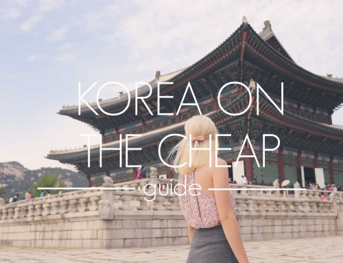 Traveling Korea on the Cheap