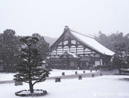 Kyoto in the Snow