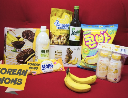 Korean Noms – Banana Everything