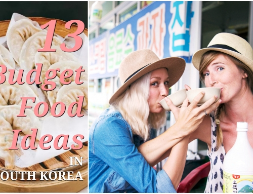 13 Budget Food Ideas in South Korea