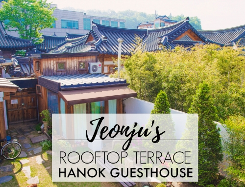 The Rooftop Jeonju Hanok Guesthouse