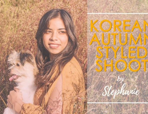 Korean Autumn – Styled Shoot