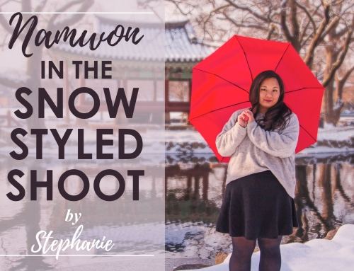 Namwon in the Snow Styled Shoot
